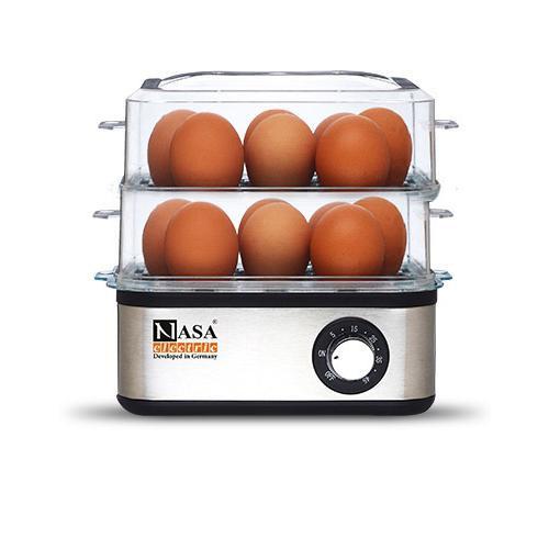 تخم مرغ پز ناسا الکتریک مدل NS 702 دو طبقه - Nasa Electric NS-702 Eggs Boiler Two Rows