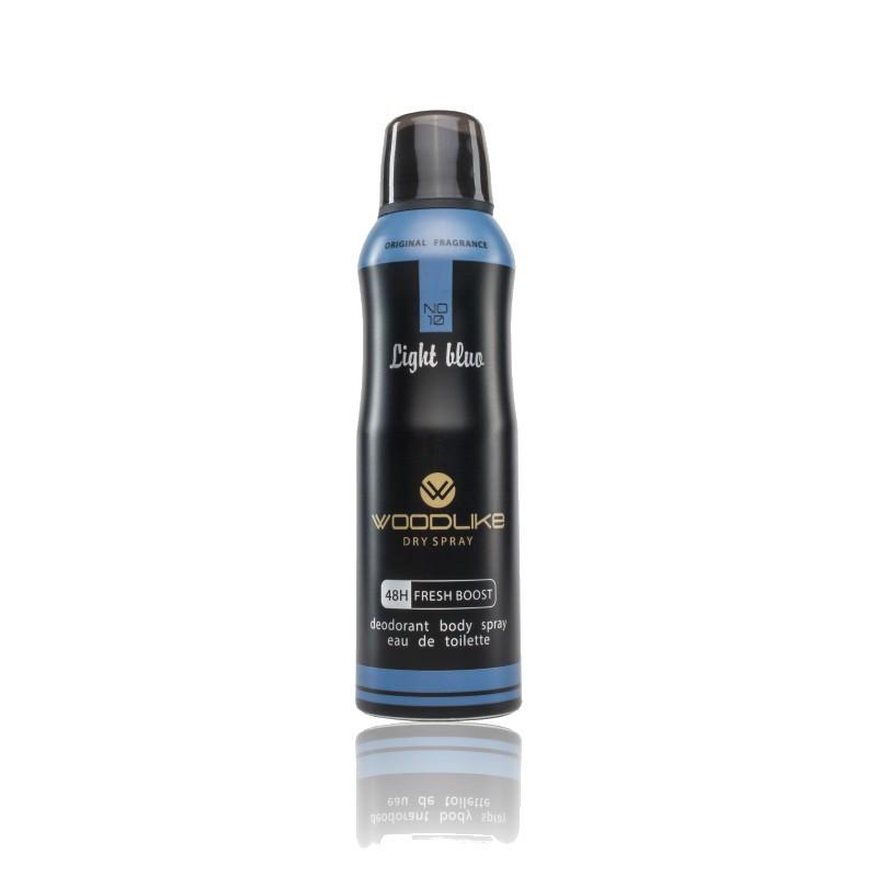 اسپری بدن مردانه لایت بلو وودلایک 200 میلی لیتر - WoodLike Light Blue Body Spray For Men