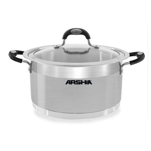 قابلمه استیل عرشیا مدل SS064 2190 - ARSHIA SS064-2190 Pot