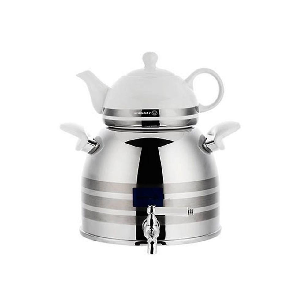 کتری و قوری کرکماز مدل Rabi Astra A012 - Korkmaz Rabi Astra A 012 Kettle and Teapot
