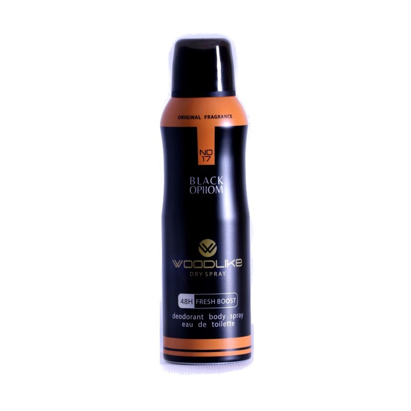 اسپری بدن زنانه وودلایک مدل بلک ( Black Ophom ) ایپیوم 200 میلی لیتر - WoodLike Black Ophom Body Spray For Women